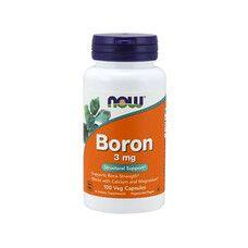 Бор (Boron) 3 мг ТМ Нау Фудс / Now Foods 100 вегетаріанських капсул - Фото