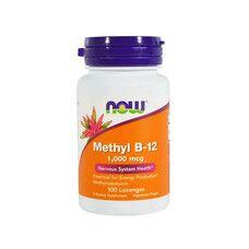 Вітамін B-12 (Vitamin B-12) 1 000 мкг ТМ Нау Фудс / Now Foods 100 льодяників - Фото