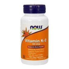 Вітамін К2 100 мкг Now Foods гелеві капсули №100 - Фото