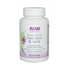 Вітаміни Hair, Skin & Nails (Шкіра, Волосся та Нігті) Now Foods капсули №90 - Фото