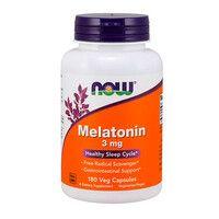 Мелатонін 3 мг Now Foods 180 гелевих капсул