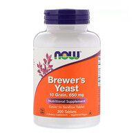 Пивные Дрожжи Brewer's Yeast Now Food 200 таблеток