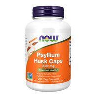 Подорожник (Псиллиум) Now Foods 500 мг 200 вегетарианских капсул