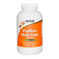 Подорожник (Псиліум) Now Foods 500 мг 500 капсул
