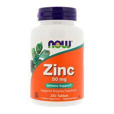 Цинк ТМ Нау Фудс / Now Foods 50 мг 250 таблеток