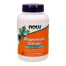 Цитрат магния ТМ Нау Фудс / Now Foods 400 мг 120 капсул