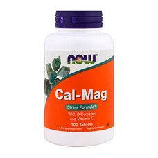 Кальций и магний формула ТМ Нау Фудс / Now Foods 100 таблеток