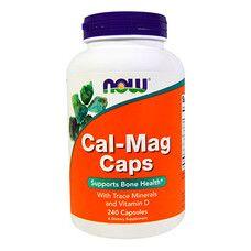 Кальций и магний ТМ Нау Фудс / Now Foods 240 капсул - Фото