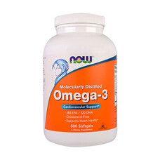 Рыбий жир Омега-3 ТМ Нау Фудс / Now Foods 500 гелевых капсул