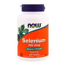 Селен ТМ Нау Фудс / Now Foods 100 мкг 250 таблеток