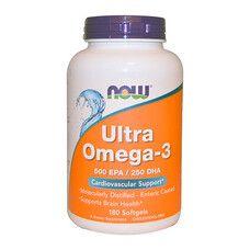 Супер Омега-3 ТМ Нау Фудс / Now Foods 180 капсул
