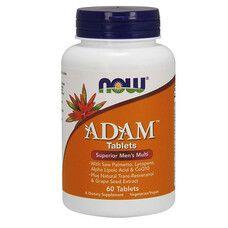 Витаминный комплекс Адам ТМ Нау Фудс/Now Foods 60 таблеток