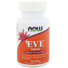 Витамины для женщин Ева ТМ Нау Фудс/Now Foods 90 таблеток