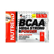 Аминокислоты BCAA Mega Strong Powder ананас ТМ Нутренд / Nutrend стик 20x10г - Фото