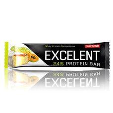 Батончик Excelent Protein Bar лайм+папайя ТМ Нутренд / Nutrend 85г