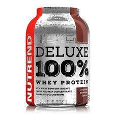 Deluxe 100% Whey Protein шоколадное пирожное ТМ Нутренд / Nutrend 900г