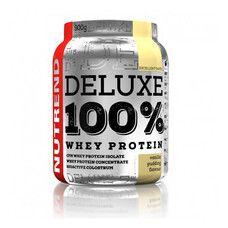 Deluxe 100% Whey Protein ванильный пудинг ТМ Нутренд / Nutrend 900г