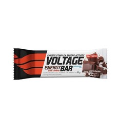 Voltage energy cake черный шоколад ТМ Нутренд / Nutrend 65 g - Фото