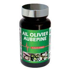 Пищевая добавка Чеснок, лист оливы и боярышник NutriExpert®, 60 капсул