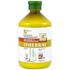 O'Herbal бальзам-кондиционер для тусклых и безжизненных волос 500 мл