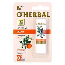 O'Herbal витаминный бальзам для губ SPF15 4,8г