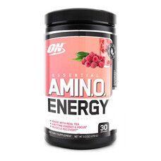 Amino Energy Tea Series Optimum Nutrition raspberry black 270г  - Фото