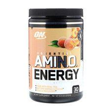 Аминокислота для спорта Optimum Nutrition Essential Amino Energy Tea Series 270 г White Peach Tea - Фото