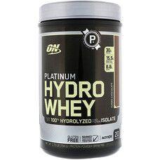 Optimum Nutrition Platinum Hydrowhey шоколад 795 г  - Фото