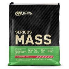 Гейнер Optimum Nutrition Serious Mass 5,443 кг - Клубника - Фото