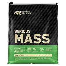 Гейнер Optimum Nutrition Serious Mass 5.45 кг - Ваніль  - Фото