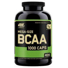 Optimum Nutrition BCAA 1000 Caps 400 капсул - Фото