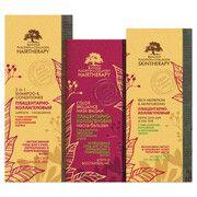 Подарунковий набір Біоголд (шампунь + маска + крем) для сухого, пофарбованого і пошкодженого волосся - Фото