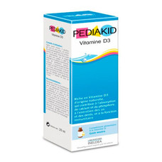 Витамин D3 натуральный ТМ PEDIAKID, 20 мл
