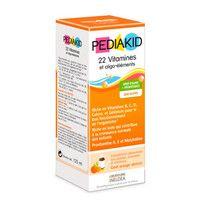 Сироп для здорового развития с витаминами и олигоэлементами ТМ PEDIAKID, 125 мл