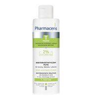 Бактериостатическая жидкость для лица, декольте и спины ТМ Фармацерис/Pharmaceris 190 мл