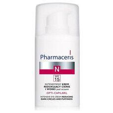 Интенсивный крем для уменьшения теней и отеков под глазами Opti-Capilaril ТМ Фармацерис/Pharmaceris