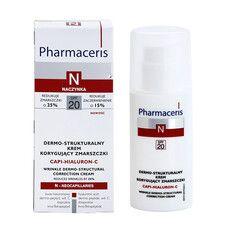 Крем для лица с дермо-структурной коррекцией морщин Capi-Hialuron-C ТМ Фармацерис/Pharmaceris 50 мл