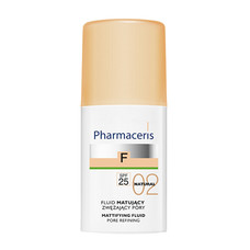 Матирующий тональный флюид, сужающий поры (натуральный) ТМ Фармацерис/Pharmaceris 30мл