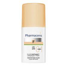 Матирующий тональный флюид, сужающий поры (слоновая кость) ТМ Фармацерис/Pharmaceris 30мл