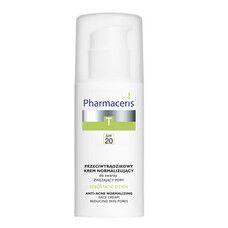 Нормализующий матирующий крем против акне Sebostatic ТМ Фармацерис/Pharmaceris 50 мл