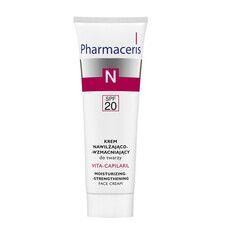 Увлажняющий крем для лица с укрепляющим эффектом Vita-Capilaril ТМ Фармацерис/Pharmaceris 50 мл