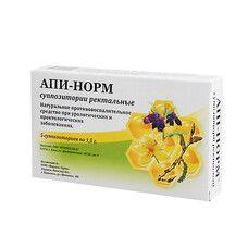 АПИ-НОРМ Суппозитории ректальные № 5