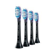 Насадка BHs G3 Premium Gum Care Black до звукової щітки Philips 4 шт HX9054/33 - Фото