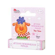 Гигиеническая помада Star Shine Pink Elephant Овечка Соня 4,8 г