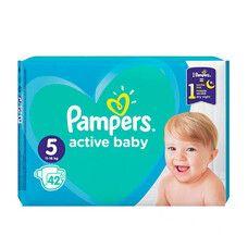 Подгузники для детей Active Baby ТМ Памперс / Pampers (11-16 кг) №42
