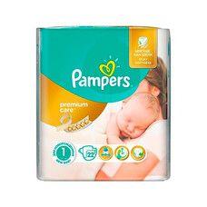 Подгузники для детей Premium Care Newborn ТМ Памперс / Pampers (2-5 кг) №22