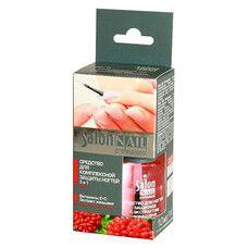 Salon средство для ногтей защитное с экстрактом женьшеня №5