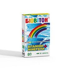 Біовітон вітаміни таблетки № 30 - Фото