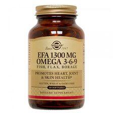 Омега-3-6-9 ЕЖК капсулы 1300 мг №60 - Фото