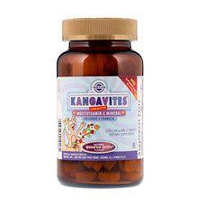 Вітаміни для дітей Kangavites Смак ягід Solgar 120 жувальних таблеток - Фото